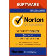 Symantec Norton Security Deluxe 5 devices 2017 1 Year