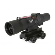 Trijicon TA33R-12 ACOG 3x30mm Scope (Red .308 Winchester Crosshair Reticle)