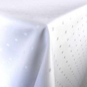 Pötyi - abrosz, terítő anyag, mikroszálas damaszt, fehér