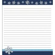 Snowflakes Notepad