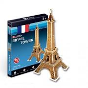 """CubicFun 3D Puzzle S-Serie Torre Eiffel - Par?s"""""""