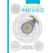 Color Yourself to Mindfulness Postcard Book by Cico Books