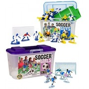 Kaskey Kids 5205 Soccer Guys and 5206 Soccer Girls with Fields