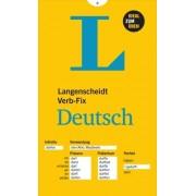 Langenscheidt Verb-Fix Deutsch: German Verbs at a Glance