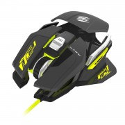 Mouse Mad Catz R.a.t. Pro S - Gaming. 5000 Dpi, Usb, Negro y Amarillo