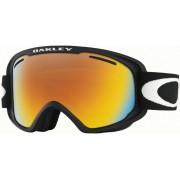 Oakley O2 XM Skibrille in matte black/fire iridium