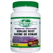Konjac Glucomannan Organika 450 mg 120 capsule