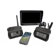 Bezdrátový set 2x parkovacích kamer s IR LED