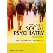 Principles of Social Psychiatry by Craig Morgan