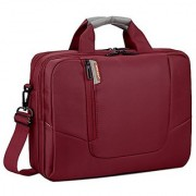 BRINCH(TM) 14 inch New Soft Nylon Waterproof Laptop Computer Case Cover Sleeve Shoulder Strap Bag with Side Pockets Handles and Detachable for Laptop / Notebook / NetBook / Chromebook (Asus/DELL/HP/Samsung...) Colour Red
