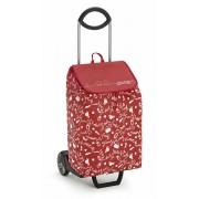 Gimi New Easy húzós bevásárlókocsi piros mintás - 145081