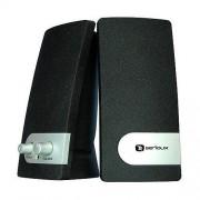 Boxe Pop 251B, 2.0, 200W PMPO, Negru / Argintiu