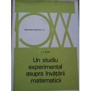 Un Studiu Experimental Asupra Invatarii Matematicii - Z.p.dienes