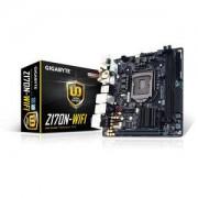 Carte mre Mini-ITX Gigabyte GA-Z170N-WIFI Socket 1151 Intel Z170 Express - SATA 6Gb/s + M.2 + SATA Express - USB 3.1 - 2x PCI-Express 3.0 16x - Wi-Fi AC