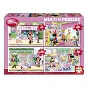 Educa Disney Minnie egér puzzle, 4 az 1-ben