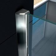 VB ITALIA Parete doccia walk-in superlusso vetro trasparente 8 mm