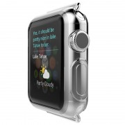 Capa de TPU Finíssima Hoco Ultra para Apple Watch - 38mm - Transparente