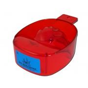 Bol acrilic pentru manichiura, rosu-transparent, art. nr.: 300051