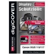 digiCOVER LCD Film de protection d'écran pour Canon Digital IXUS 115/117 HS