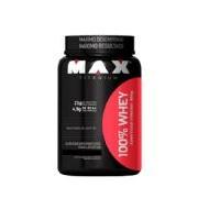 100% Whey Protein - 900g Morango - Max Titanium