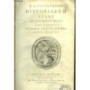 Historiarum Libri Qui Supersunt Omnes Cum Integris Joannis Freinshemii Supplementis - Volumen Tertium