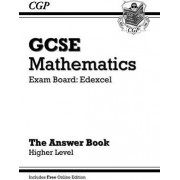 GCSE Maths Edexcel Answers for Workbook with Online Edition - Higher (A*-G Resits) by CGP Books