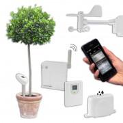 Bresser Statie meteo wirelles Connect Set Wetter- und Klimaüberwachung per Smartphone