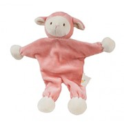 LOLLY LAMB (9in) 22cm (Pink) STUFFLESS with CRINKLE PAPER