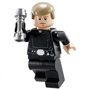 LEGO Star Wars Final Duel Minifigure - Luke Skywalker with Black Hand and Lightsaber (75093)
