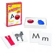 "Alphabet Match Me Flash Cards, 3""x3-7/8"", 6 And Up, Sold as 1 Each"