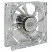 Cooler Master Ventola Trasparente con Luce Verde a LED, 120 x 120 mm