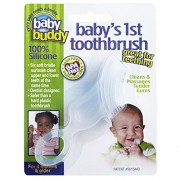 Baby Buddy Clear First Silicone Toothbrush