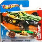 2011 Hot Wheels (Green) CROC ROD #213/244 Thrill Racers Jungle #3/6 (Short Card)
