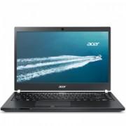 """ACER, TravelMate TMP648-MG-72J3, 14"""", FHD, Intel Core i7-6500U, DDR4 12GB (4+8), SSD 256GB, SATA 1TB 5400rpm, no ODD, VGA nVidia GF 940M 2GB, HDMI, WiFi, BT, Gbit LAN, HD cam, 3 cell batt, 3G & CAT4 LTE, backlit keyb., Win 10 Pro, Carbon Filber, 2 yr"""