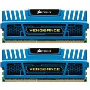 Memorie Corsair 8GB (2x4GB) DDR3, 1866MHz, CL9, radiator Vengeance Blue, Dual Channel Kit, CMZ8GX3M2A1866C9B