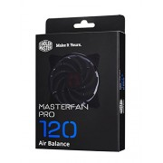 Cooler Master MasterFan Pro 120 Air Balance with Hybrid Fan Blade, Speed Profiles, and Exclusive Silent Driver