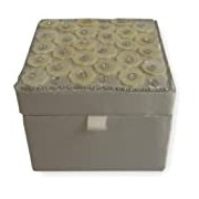 Boutique Olivia Small Sequinned Shell Jewellery Box