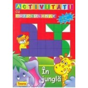 In jungla - Activitati cu autocolante