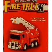 Tűzoltó autó világítós zenélős önműködő autó No.175B-2 - Gyerek játék