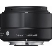 Obiectiv Foto Sigma 30mm f2.8 DN MFT Negru