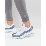 Nike Белые премиум-кроссовки Nike Air Max 95 538416-401 - Белый
