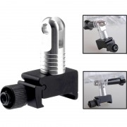 Super Mini Quick Release 20mm Rail Mount pour GoPro HD HERO4 / 3+ / 3/2/1 (Noir)