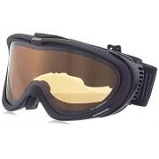 Uvex adultos Comanche Pola - Gafas de esquí, Black Mat, One size