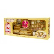 "Epoch Sylvanian Families Sylvanian Family Doll ""Se-183 Kitchen Furniture Set of Chocolat Rabbit"""