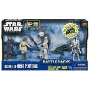Star Wars The Clone Wars Battle Packs Battle of Orto Plutoni Figure 4-Pack 4 Inches