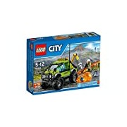 LEGO 60121 City In/Out Volcano Exploration Truck Construction Set - Multi-Coloured