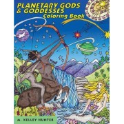 Planetary Gods and Goddesses Coloring Book: Astronomy and Myths of the New Solar System