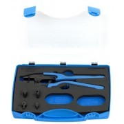 Garnitura grip klešta za kablovske kontakte sa izmenljivim čeljustima u plastičnoj kutiji 428/4A