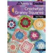 Crocheted Granny Squares by Val Pierce