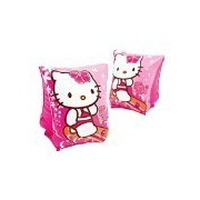 Hello Kitty Inflatable Deluxe Arm Bands Floatation Sleeves,for Ages 3-6